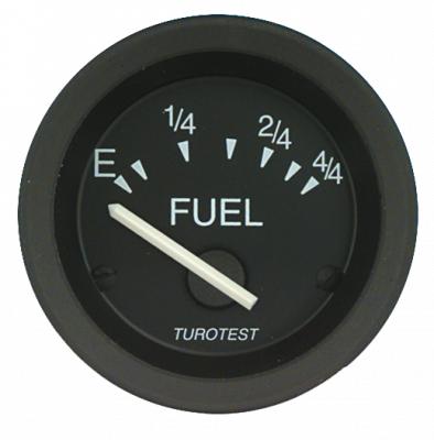 Philippi Turotest Analoganzeige Fuel 52mm