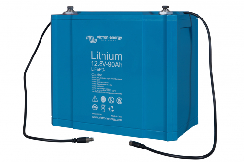 VICTRON Lithium Batterie LiFePO4 Battery 12,8V/90Ah - BMS