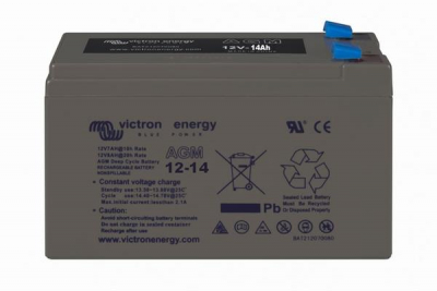 Victron AGM Deep Cycle Batterie 12V/14Ah
