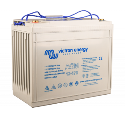 Victron AGM Super Cycle Batterie 12V/170Ah