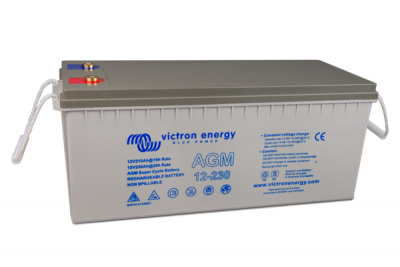 Victron AGM Super Cycle Batterie 12V/230Ah