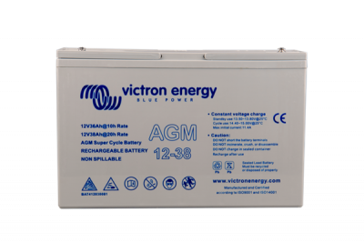 Victron AGM Super Cycle Batterie 12V/38Ah