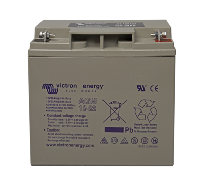 Victron AGM Deep Cycle Batterie 12V/22Ah