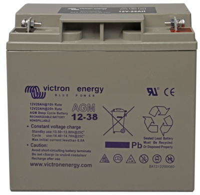 Victron AGM Deep Cycle Batterie 12V/38Ah