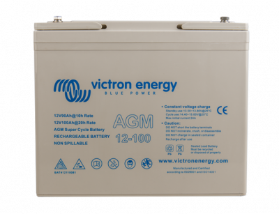 Victron AGM Super Cycle Batterie 12V/100Ah
