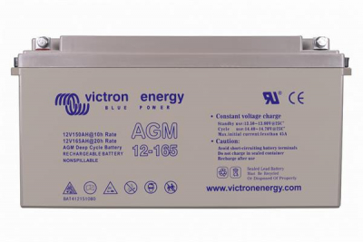 Victron AGM Deep Cycle Batterie 12V/165Ah
