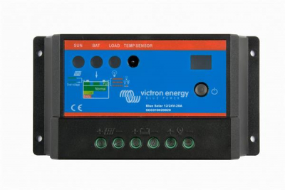 Victron Solar Laderegler BlueSolar PWM-Light 12/24V-20A