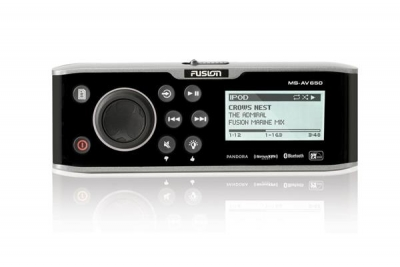 Fusion MS-AV650 Radio - CD/DVD Player AM/FM/USB/Bluetooth/NMEA2000 - 3 Zonen