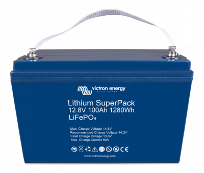 Victron Lithium SuperPack 12,8V/100Ah (M8) HighCurrent