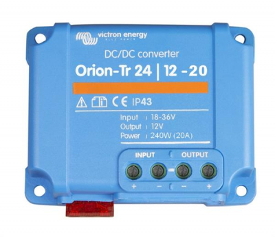 Victron Orion-Tr 24/12-20A (240W) nicht isoliert