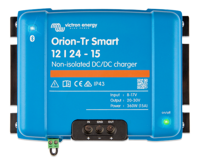 Victron Orion-Tr Smart 12/24-15A nicht isoliert