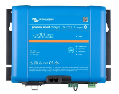 Victron Phoenix Smart IP43 Charger 24/25 (3)