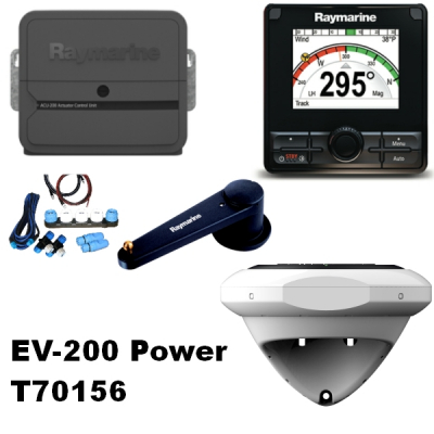Raymarine T70156 Evolution EV-200 Power Autopilot Paket