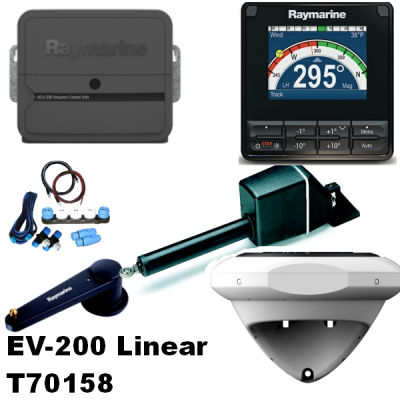 Raymarine T70158 Evolution EV-200 Linear Paket
