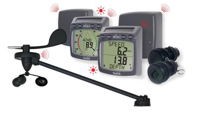 Raymarine TackTick T104 Kabelloses Log-, Lot- Wind- und NMEA-System