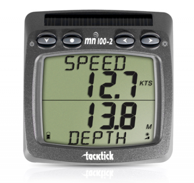 Raymarine TackTick T111 Dual-Digital-Anzeige, kabellos