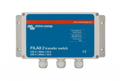 Victron Filax 2 Transfer Switch CE 110V/50Hz-120V/60Hz