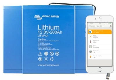 Victron LiFePO4 Batterie Smart 12,8V/200Ah Bluetooth - Auslaufmodell