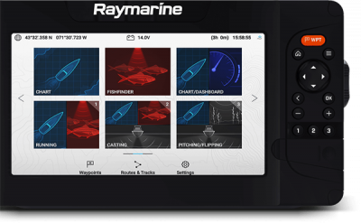 "Raymarine Element 7"" HyperVision"
