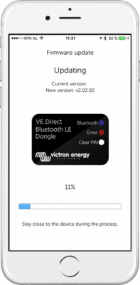 Victron VE.Direct Bluetooth Smart dongle