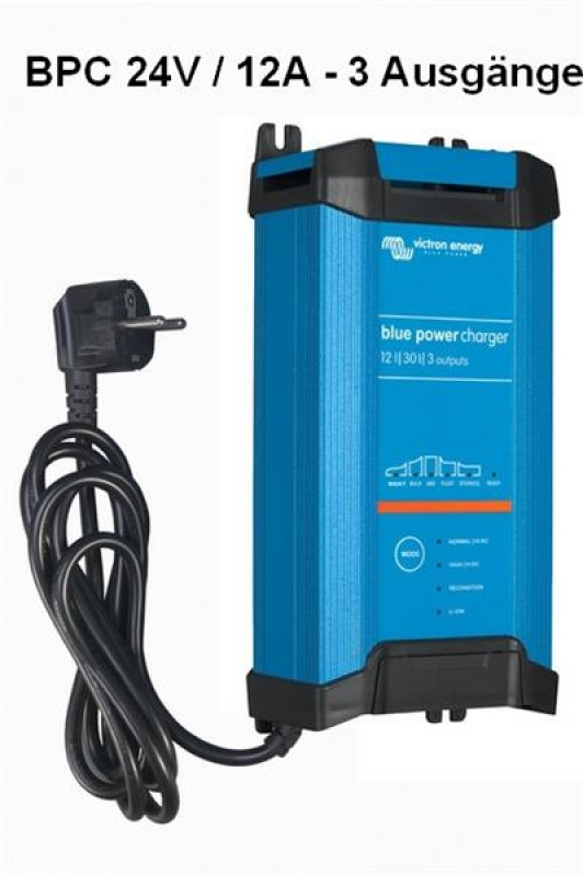 Victron Blue Power IP22 Charger 24/12(1) Schuko - Auslaufmodell ohne Bluetooth