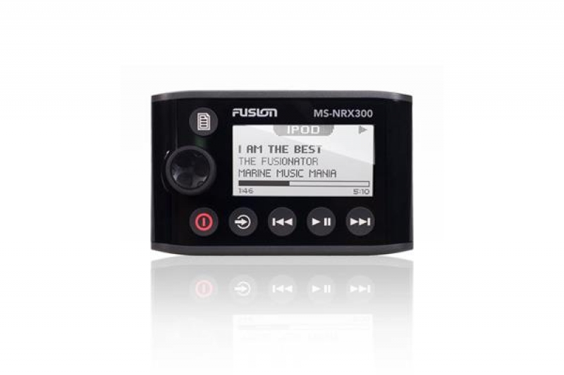 Fusion MS-BB300R Radio - Media Black Box mit Fernbedienung MS-NRX300